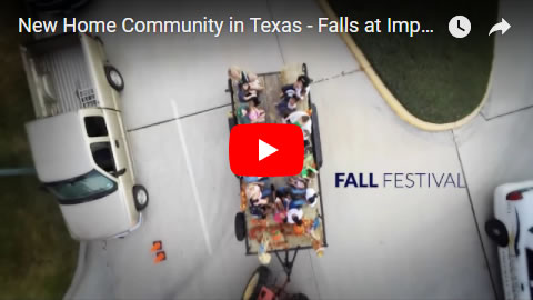 New Home Community in Texas - Falls at Imperial Oaks